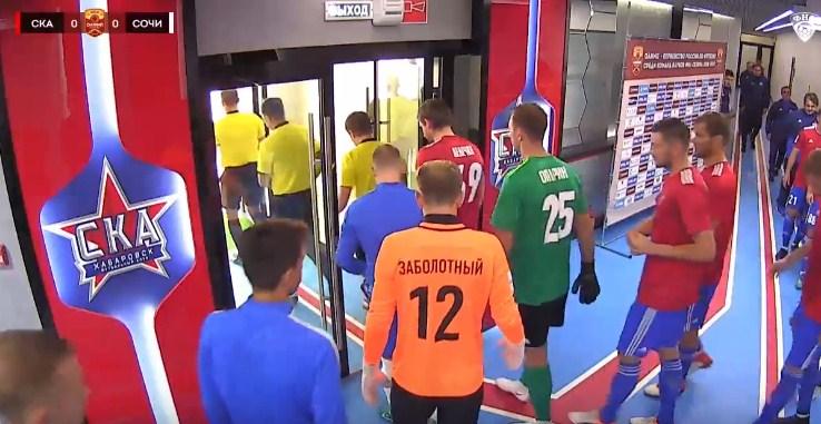 ФНЛ 10-й тур. СКА - Хабаровск - ФК Сочи 2:2